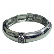 Magnetic Bangle Bracelet with Smooth Finish