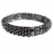 Magnetic Bangle Bracelet with Raised Dots