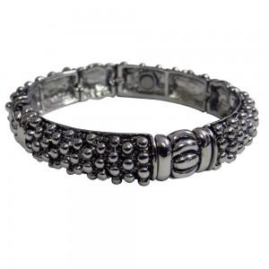Magnetic Bangle Bracelet with Raised Dots