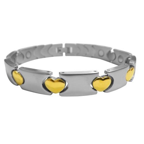 Magnetic Bracelet Linked Heart