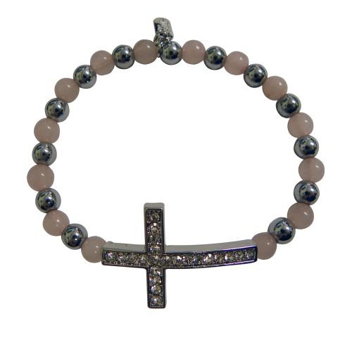Magnetic Bangle Bracelet Cross