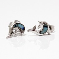 Magnetic Earrings Dolphin