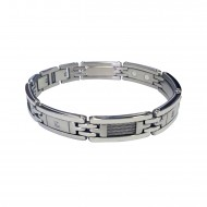 Magnetic Bracelet with Cable