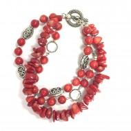Red Toggle Bracelet