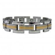 Magnetic Stainless Steel Bracelet Horizon