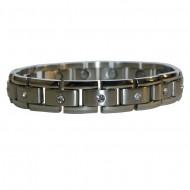 Magnetic Stainless Steel Bracelet Stream