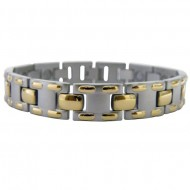 Magnetic Stainless Steel Bracelet MT Laced