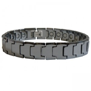 Magnetic Tungsten Bracelet Pebble Beach