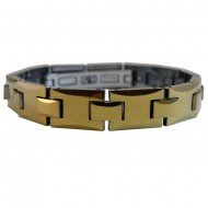 Magnetic Tungsten Bracelet Gold