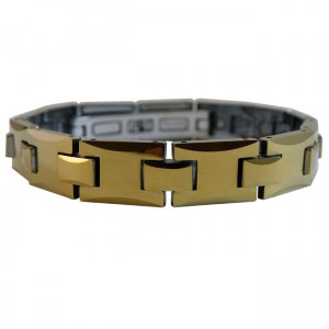 Magnetic Tungsten Bracelet Gold