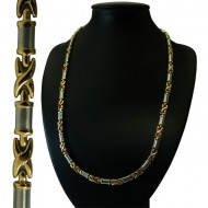 Magnetic Stainless Steel Necklace X-Tangle