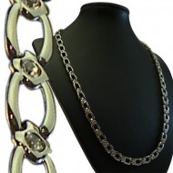 Magnetic Stainless Steel Necklace Horseshoe