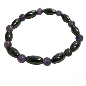 Magnetic Purple Hematite Bracelet