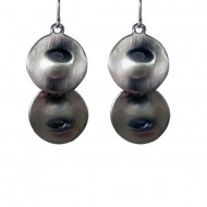 Magnetic Circle Dangle Earring