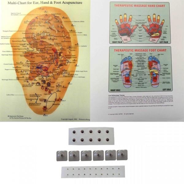 magnetic acupressure kit