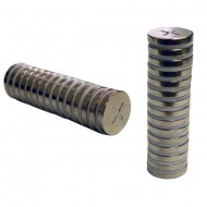 Magnetic Nickle Discs half inch by 2 millimeter
