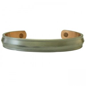 Magnetic Pewter Copper Cuff