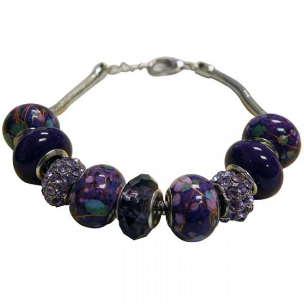 Magnetic Bead Charm Bracelet