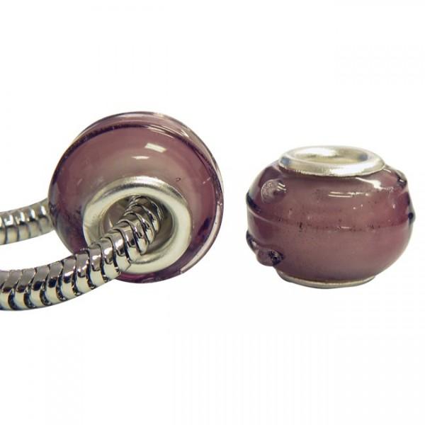 Glass Charm Bead