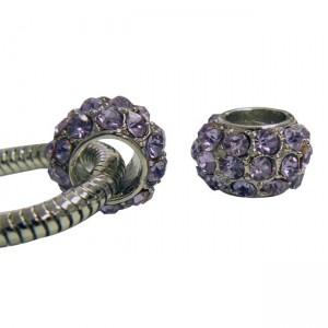 Pandora Style CZ Beads