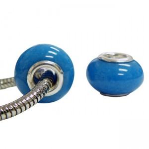 Pandora Style Smooth Beads