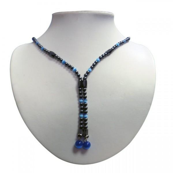 Magnetic Hematite Necklace Wrap