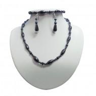 Magnetic Hematite 3 piece Necklace Set
